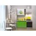 Кухня Oli с фотопечатью Лайм- зеленый 1.6м