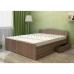 Кровать с ящиками В-1600