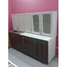 Кухня комбинированная 2м