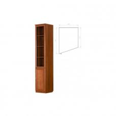 Офисный шкаф для книг (консоль) левая Г- А201