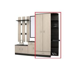 Шкаф для дачи с угловым завершением - 07