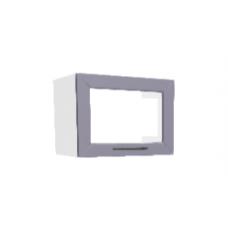 Шкаф Кельн верхний горизонтальный остекленный 500