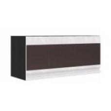 Шкаф Бруклин верхний горизонтальный остеклённый 800