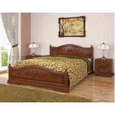 Кровать Карина орех 1600х2000
