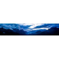 Кухонный фартук Горы №13 Высоко в горах