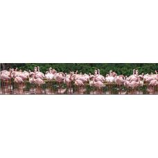 Кухонный фартук Животные №4 Фламинго