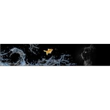 Кухонный фартук Животные №9 Золотая рыбка