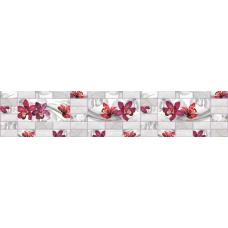 Кухонный фартук Кабанчик №7 Орхидея