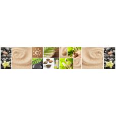 Кухонный фартук Миражи №18 Зеленый спа