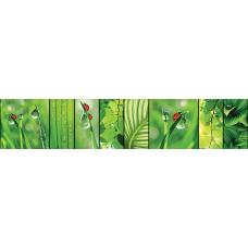Кухонный фартук Миражи №3 Зеленый мир