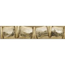 Кухонный фартук Путешествия №3 Старинные свитки