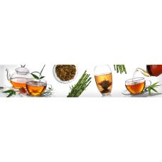 Кухонный фартук Гурман №20 Чай на белом
