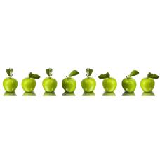 Кухонный фартук Гурман №33 Зеленые яблоки