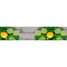 Кухонный фартук Гурман №46 Лимоны и лайм