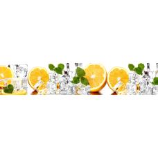Кухонный фартук Гурман №55 Апельсины и лед