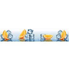 Кухонный фартук Гурман №62 Морозный апельсин