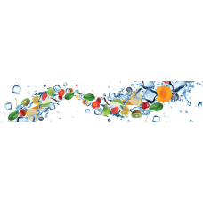 Кухонный фартук Гурман №21 Фруктовый лед