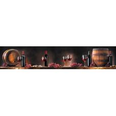 Кухонный фартук Гурман №1 Красное вино