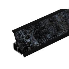 Плинтус для столешницы №1242 Кастило темный