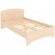 Одноместная кровать с ортопедическим основанием КМ12