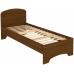 Кровать с ортопедическим основанием одноместная КМ08