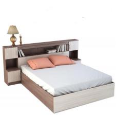 Кровать с ящиком Б-1600 с тумбами