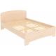 Кровать двухместная с ортопедическим основанием КМ14