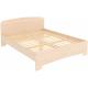 Кровать двухместная с ортопедическим основанием КМ16