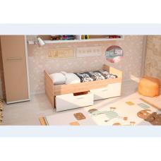 Детская кровать Умка-2 МДФ Белая