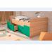 Детская кровать Умка-2 МДФ Бирюза