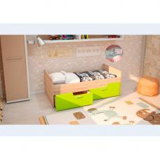 Детская кровать Умка-2 МДФ Лайм