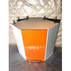 Шкаф навесной угловой Oli оранж 600х600
