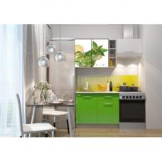 Кухня Oli с фотопечатью Мохито 1.6м