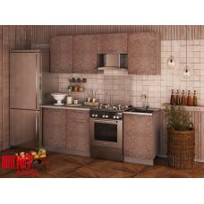 Кухня Oli мозайка какао 2,1м