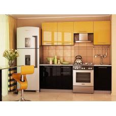Кухня Oli Дюна желтая 2,1м