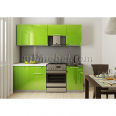 Кухня Oli салатовый 2,1м