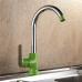 Смеситель кухонный Frap F4033 Зеленый