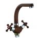 Смеситель кухонный Frap F5408-22 Темно-коричневый