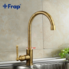 Смеситель кухонный Frap F4252-4 Бронза
