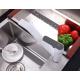 Смеситель кухонный Frap F4931 Белый