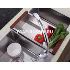 Смеситель кухонный Frap F4113-2 Хром