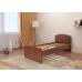 Кровать для дачи Волна 800мм