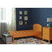 Кровать для ребенка оранжевая