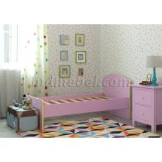 Детская кровать Радуга сирень