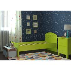 Детская кровать Радуга зеленая