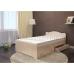 Кровать для дачи ЛДСП с 2 ящиками 1200мм
