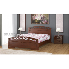 Кровать Грация-1 орех 1400х2000