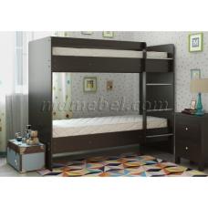 Двуспальная кровать Двухъярусная