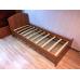 Кровать односпальная Волна-800 с матрасом