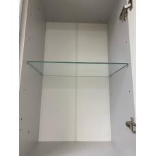 Полка стеклянная в модуль 400